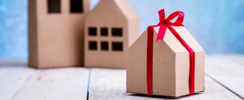 gifting home property taxes